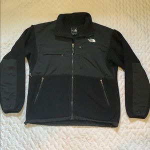 Large Black Polartech North Face Fleece Jacket